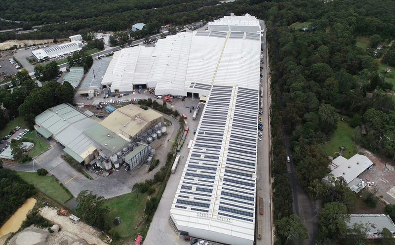 Industrial Facility – 1.4MW Roof Mount System