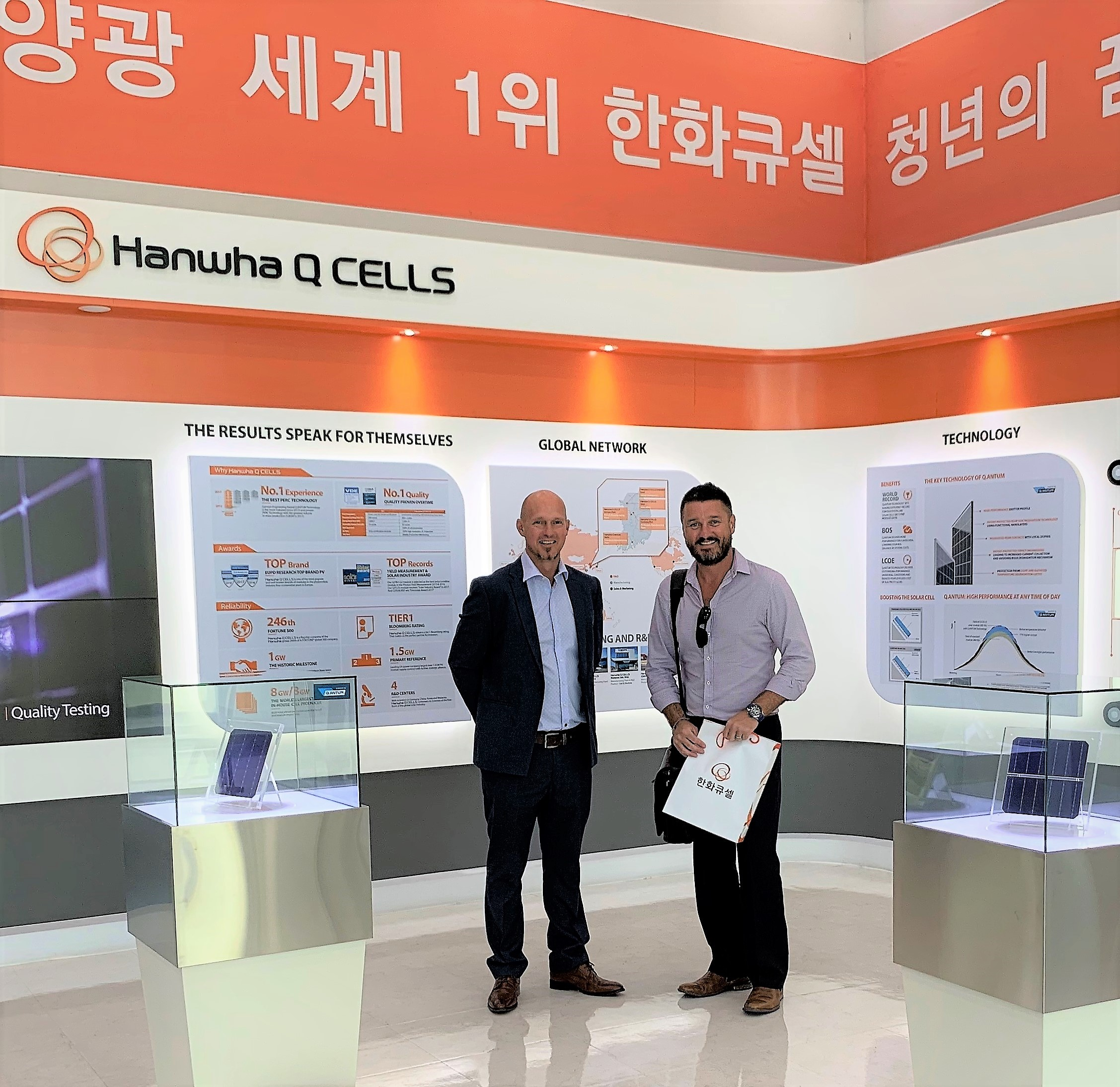 Hanwha Q CELL – South Korea